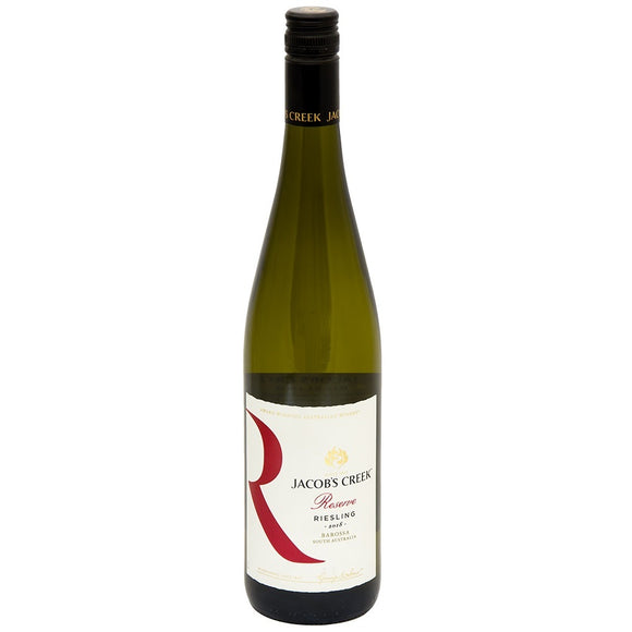 Jacob's Creek Reserve Riesling 2018 75cl