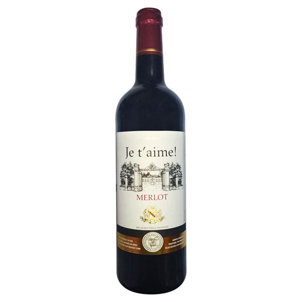 Je t' aime! Merlot - The Liquor Shop Singapore