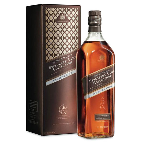 Johnnie Walker Explorers Club Collection The Spice Road 1L, Scotch Whisky - The Liquor Shop Singapore