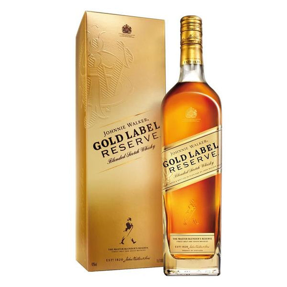 Johnnie Walker Gold Label Reserve 75cl, Scotch Whisky - The Liquor Shop Singapore