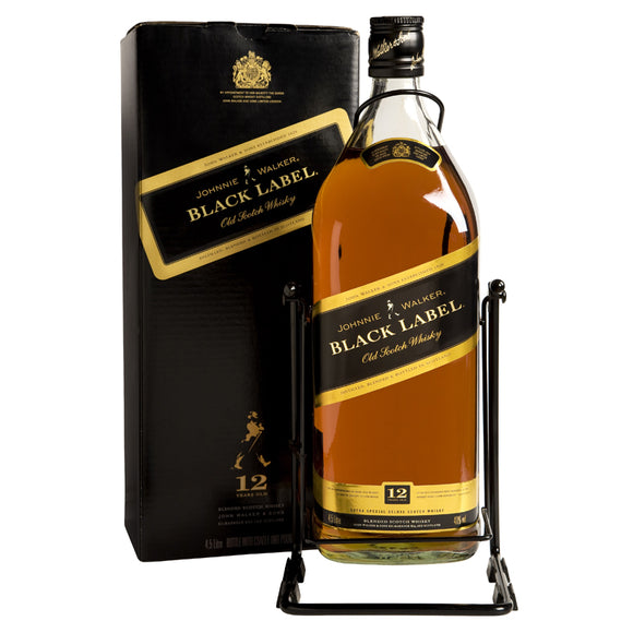 Johnnie Walker Black Label 450cl, Scotch Whisky - The Liquor Shop Singapore