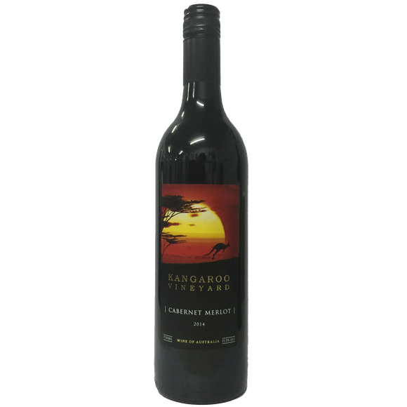 Kangaroo Vineyard Cabernet Merlot 75cl, Red Wine - The Liquor Shop Singapore