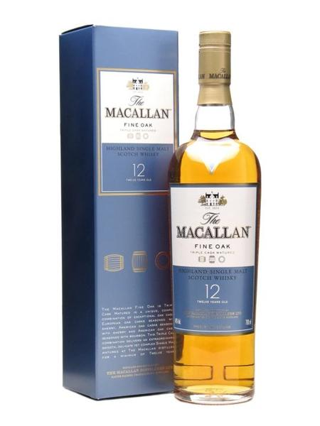Macallan 12 Year Old Fine Oak, Scotch Whisky - The Liquor Shop Singapore