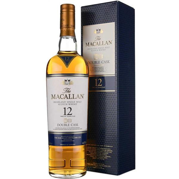 Macallan 12 Years Old Double Cask, Scotch Whisky - The Liquor Shop Singapore