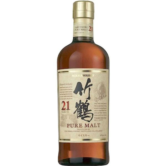 Nikka Taketsuru Pure Malt 21 Years Old, Japanese Whisky - The Liquor Shop Singapore