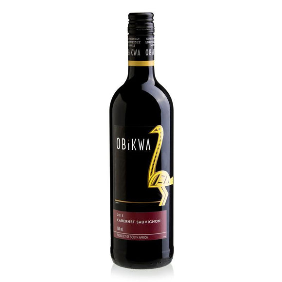 Obikwa Cabernet Sauvignon 75cl, Red Wine - The Liquor Shop Singapore
