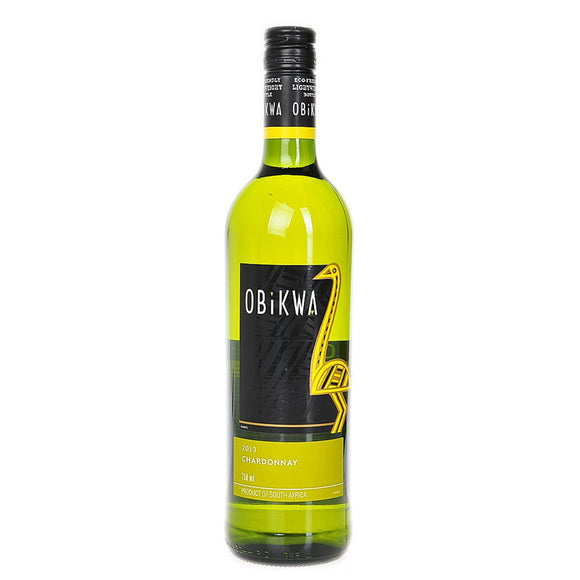 Obikwa Chardonnay, White Wine - The Liquor Shop Singapore