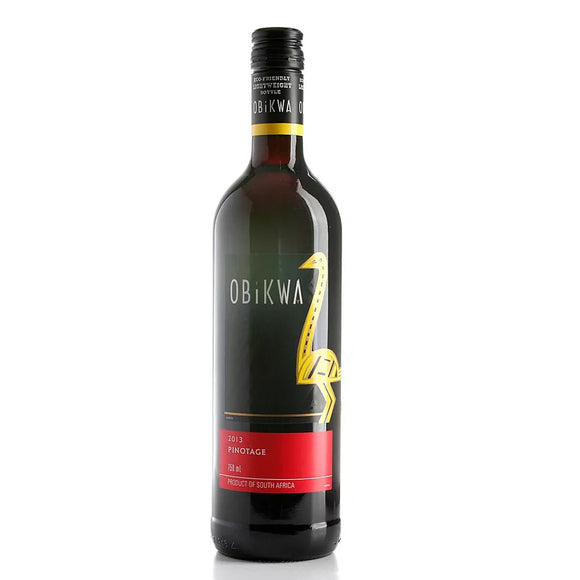 Obikwa Pinotage 75cl, Red Wine - The Liquor Shop Singapore