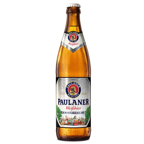 Paulaner Kristallklar Wheat Beer - 20 x 500ml Quart, Beer - The Liquor Shop Singapore