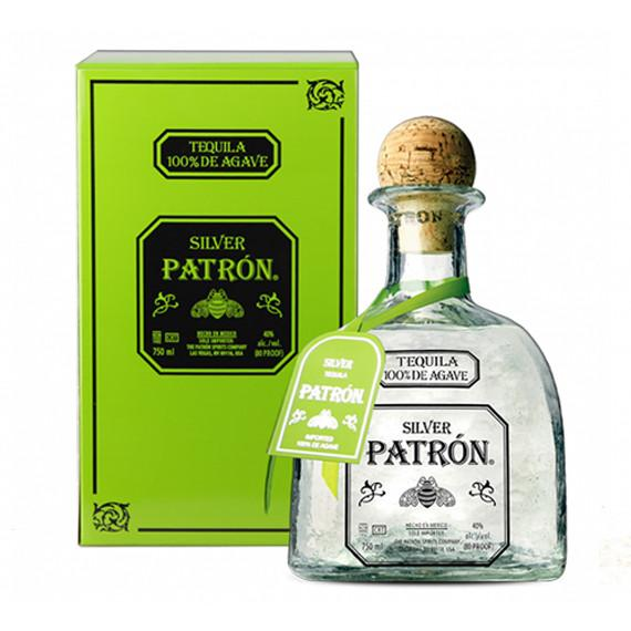 Patron Silver Tequila 75cl, Tequila - The Liquor Shop Singapore
