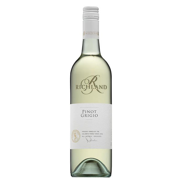 Richland Pinot Grigio 75cl, White Wine - The Liquor Shop Singapore