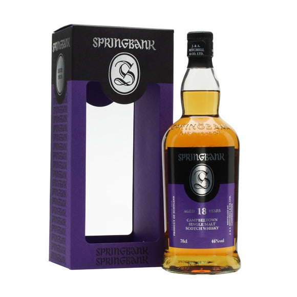 Springbank 18 Years Old 70cl