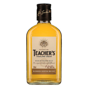Teacher's Highland Cream 20cl, Scotch Whisky - The Liquor Shop Singapore