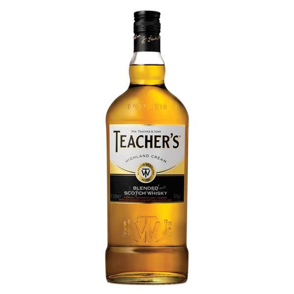 Teacher's Highland Cream 100cl (1 litre)