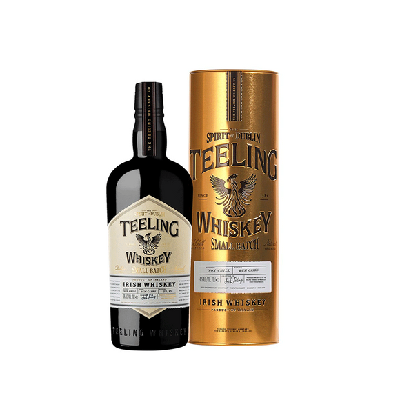 Teeling Small Batch With Golden Tin Tube
