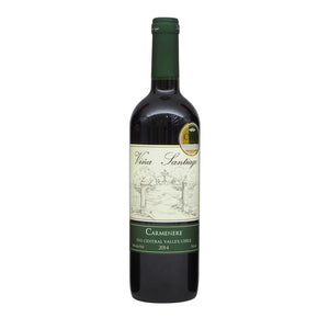 Vina Santiago Carmenere 75cl The Liquor Shop