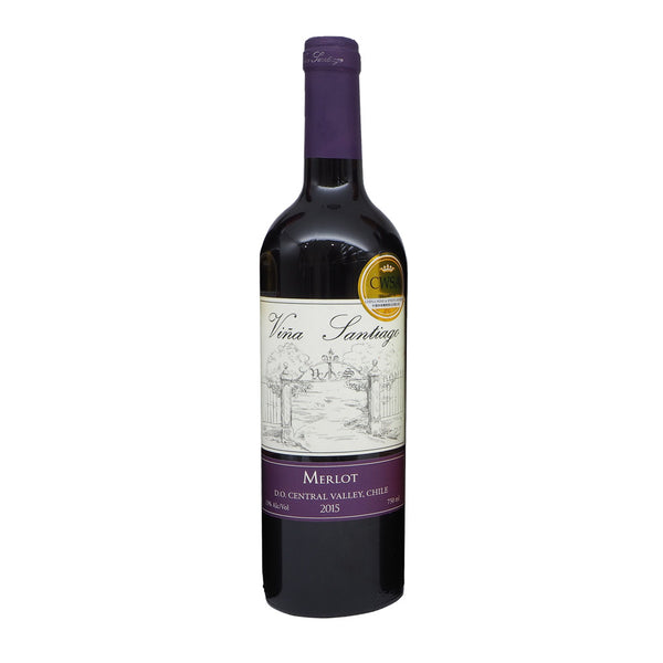 Vina Santiago Merlot 75cl The Liquor Shop