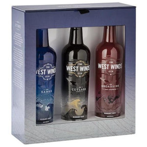 The West Winds Gin Gift Pack 3 x 200ml (Sabre , Cutlass, Broadside)