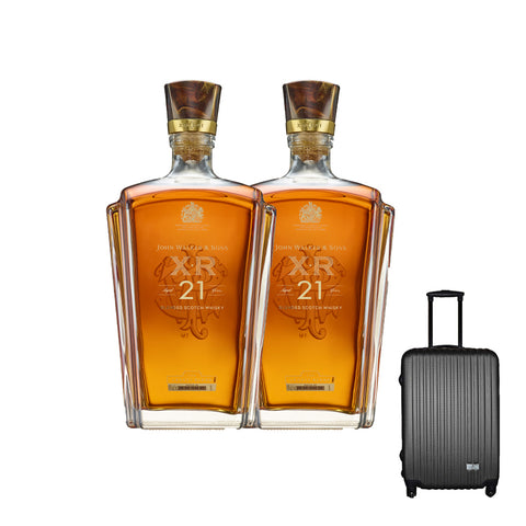 John Walker & Sons XR 21 with Gift (Travel Luggage)