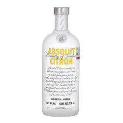 Absolut Citron 75cl, Vodka - The Liquor Shop Singapore