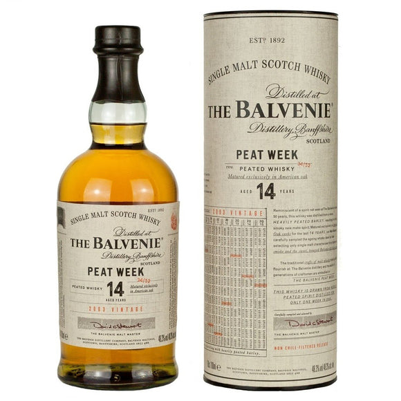 Balvenie 14 Year Peated Week 70cl