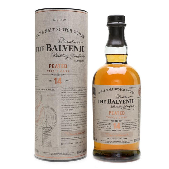 Balvenie 14 Year Old Peated Triple Cask 70cl