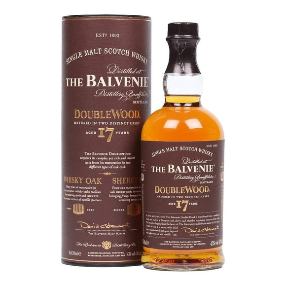 Balvenie 17 Year Double wood 70cl
