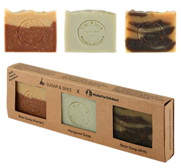 Craft Beer Soap Gift Set