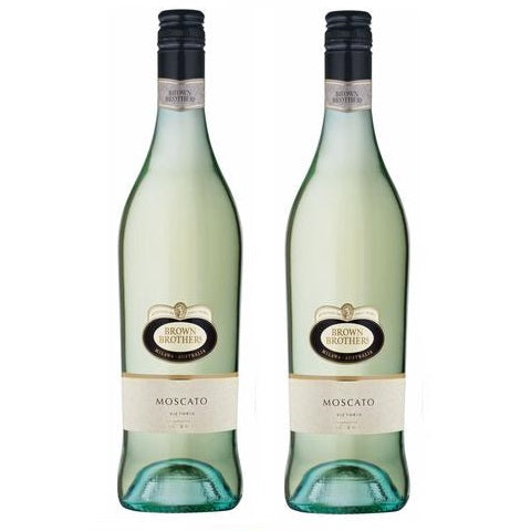 Brown Brothers Moscato 75cl x 2 bottle (Bundle Deal)
