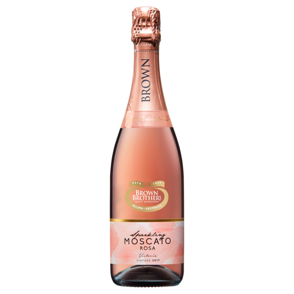 Brown Brothers Sparkling Moscato Rosa - The Liquor Shop Singapore