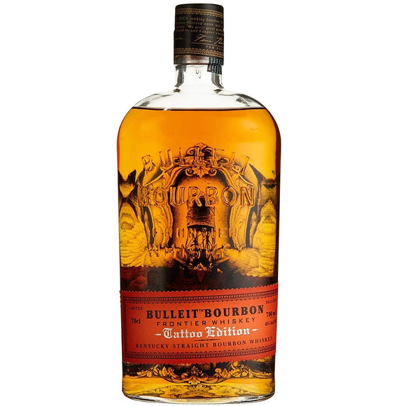 Bulleit Bourbon Whisky Tattoo Edition Jess Mascetti Limited Edition 70cl