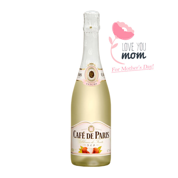Café de Paris Lychee, Sparkling Wine - The Liquor Shop Singapore