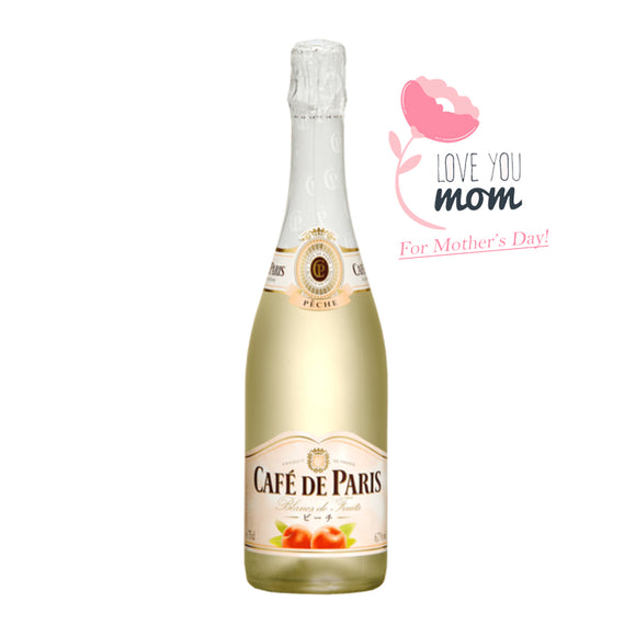 Café de Paris Peach, Sparkling Wine - The Liquor Shop Singapore