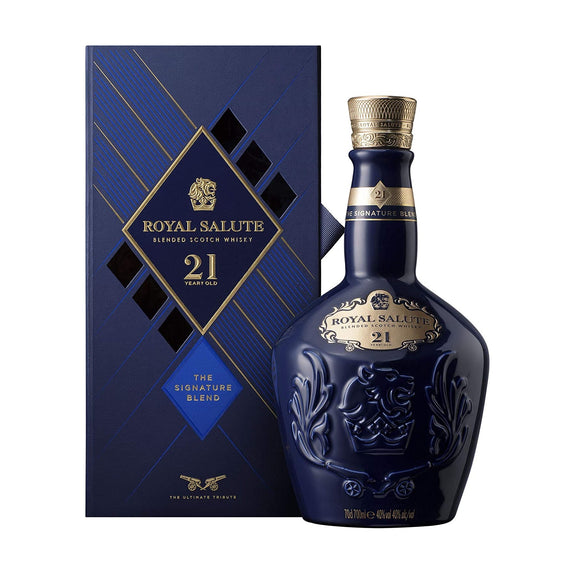 Chivas Regal Royal Salute 21 Years Old The Signature Blend