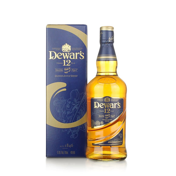 Dewar's 12 Year Old Double Aged Blended Sotch Whisky 1L