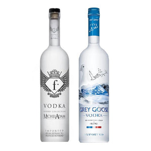 Fashion Vodka Luxury & Grey Goose Vodka Bundle