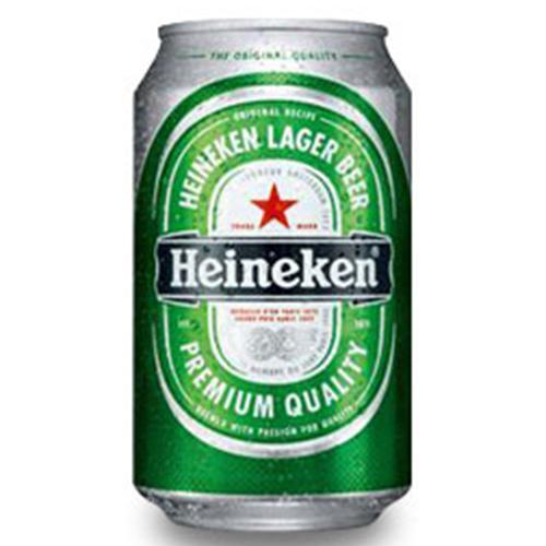 Heineken Lager Beer - 24 x 323ml Cans, Beer - The Liquor Shop Singapore