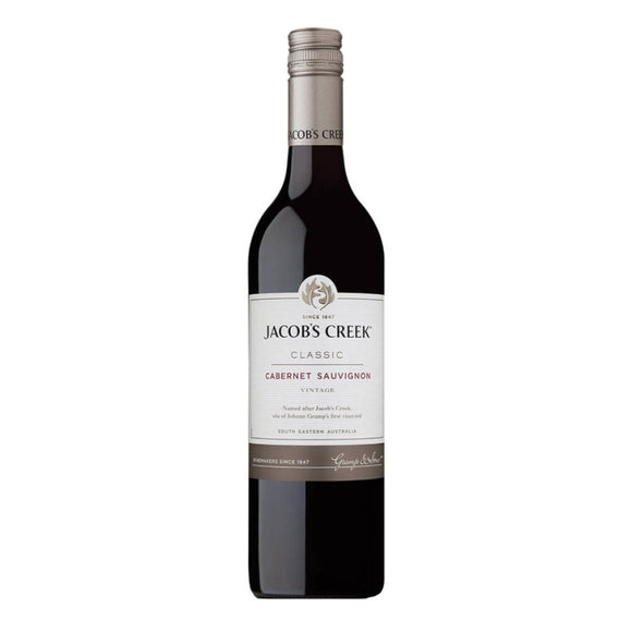 Jacob's Creek Cabernet Sauvignon, Red Wine - The Liquor Shop Singapore