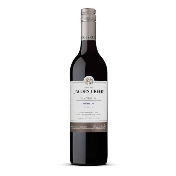 Jacob's Creek Merlot 2019 75cl