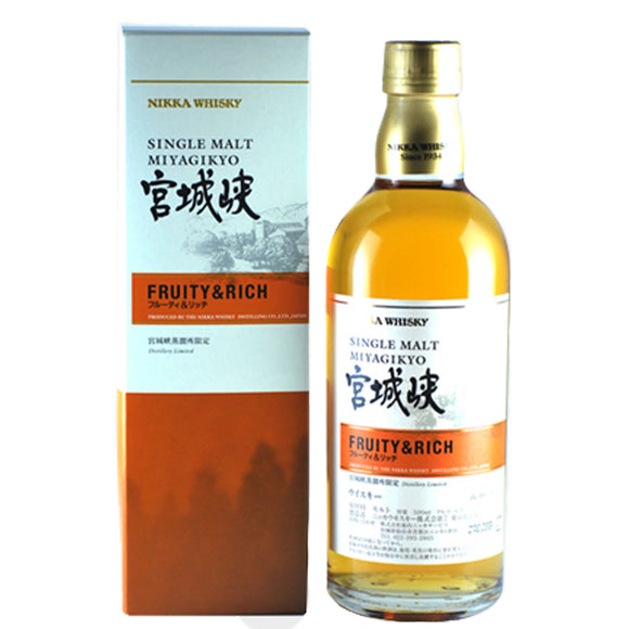 Nikka Miyagikyo Fruity & Rich, Japan - Nikka - The Liquor Shop Singapore