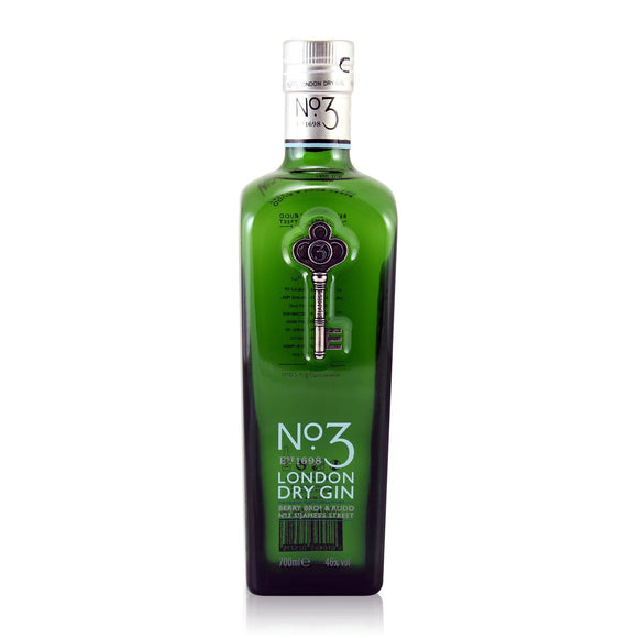 No. 3 London Dry Gin 70cl