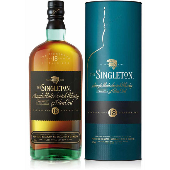 Singleton of Glen Ord 18 Years Old, Highlands - Diageo - The Liquor Shop Singapore