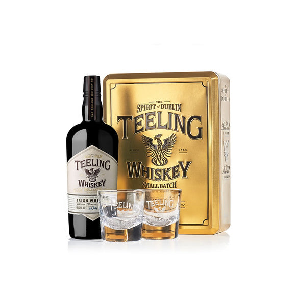 Teeling Small Batch Golden Gift Set With Glass