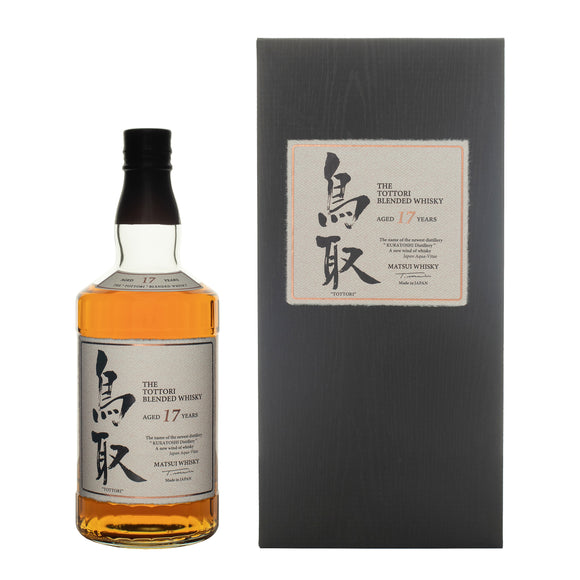Tottori 17 Years Old Japanese whisky 70cl