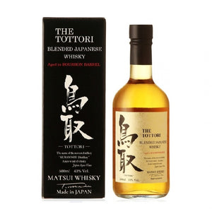 Tottori Aged in Bourbon Barrel Blended Japanese whisky 50cl