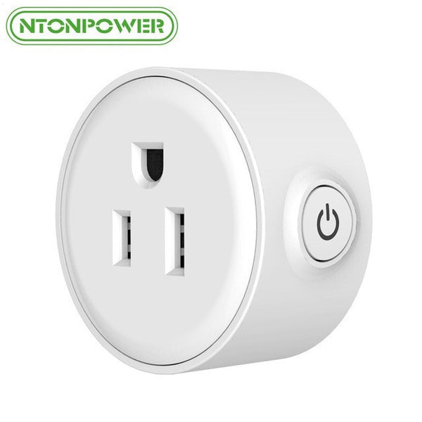 NTONPOWER Mini Smart Wifi Socket US Plug Remote Control Power Strip Timing Switch for Smart Home Automation Electronics System