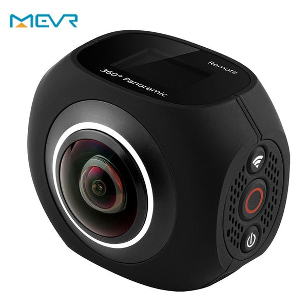 "MEVR VR Dual Lens Panoramic Camera 4k HD 360 Camera Wifi 1"" Screen Mini VR 720 Camera Video For Android iphone6/6s/7 iOS"