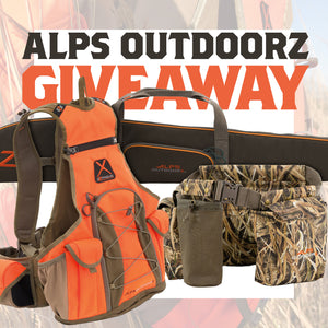 Giveaway: ALPS OutdoorZ Upland Hunting Gear Package