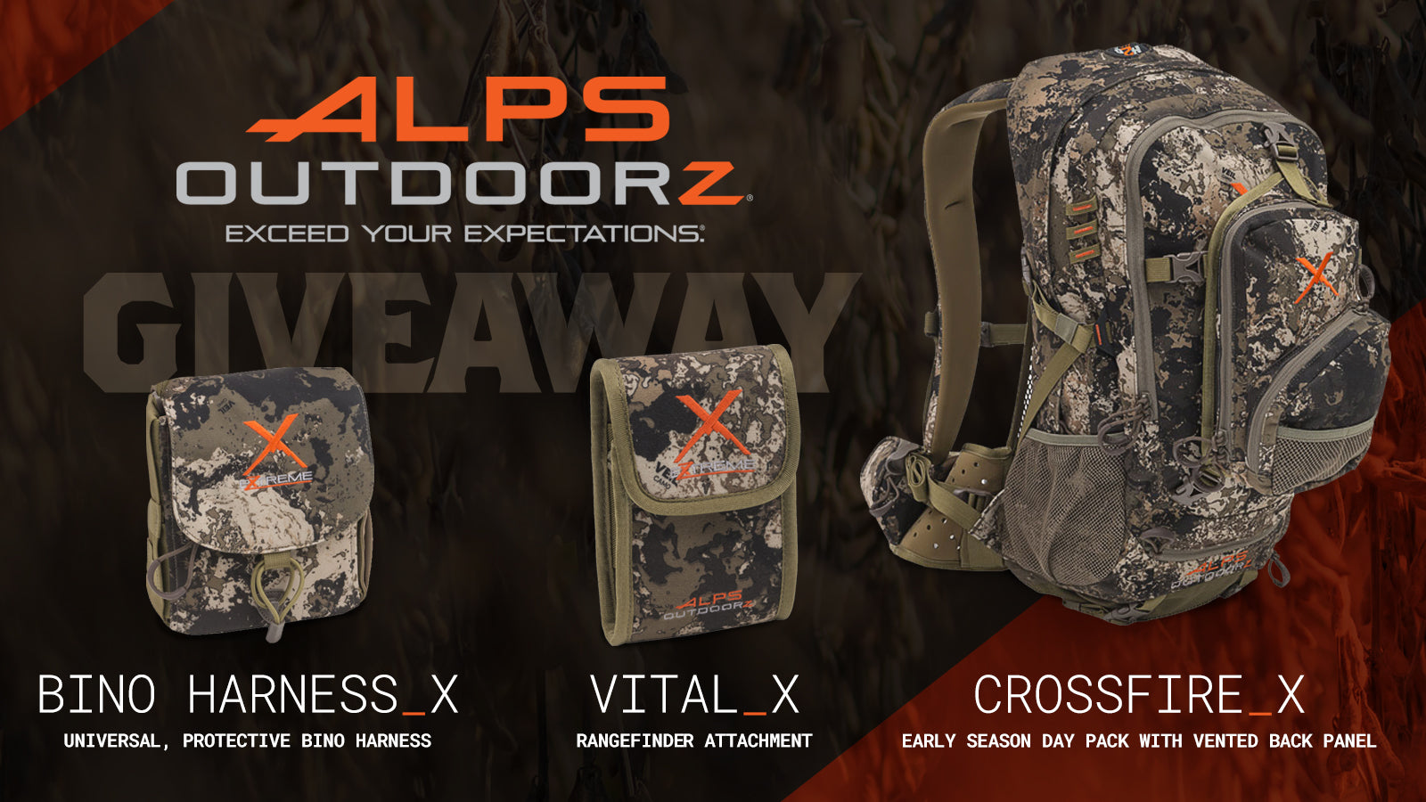 Giveaway: ALPS OutdoorZ Veil Wideland Series Package
