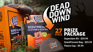 Giveaway: Dead Down Wind 27 Item Prize Package